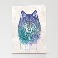 I Dream Of Wolf Stationery Cards