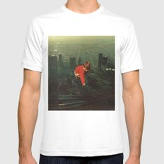 Houston Mens Fitted Tee White SMALL