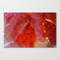 Indulge Pink | Gummy Bear Addict :) Canvas Print