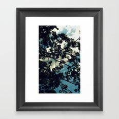 Against a Billow Cloud Framed Art Print