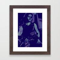 Plissken Framed Art Print