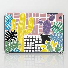 Cacti & Succulent Greenh… iPad Case