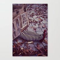 Wicked Witch Of The East… Canvas Print