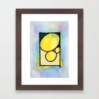 Pedras Framed Art Print
