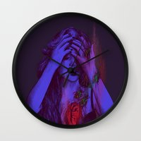 THE HEART SCARAB Wall Clock