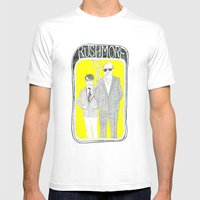Rushmore Mens Fitted Tee White SMALL