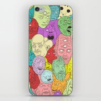 Faces of Math iPhone & iPod Skin
