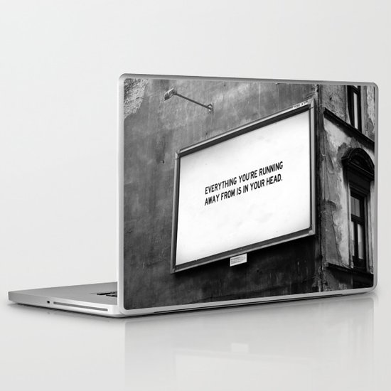 BILLBOARD FANTASIES #2 Laptop & iPad Skin