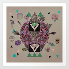 LUSCIOUS INSANITY Art Print