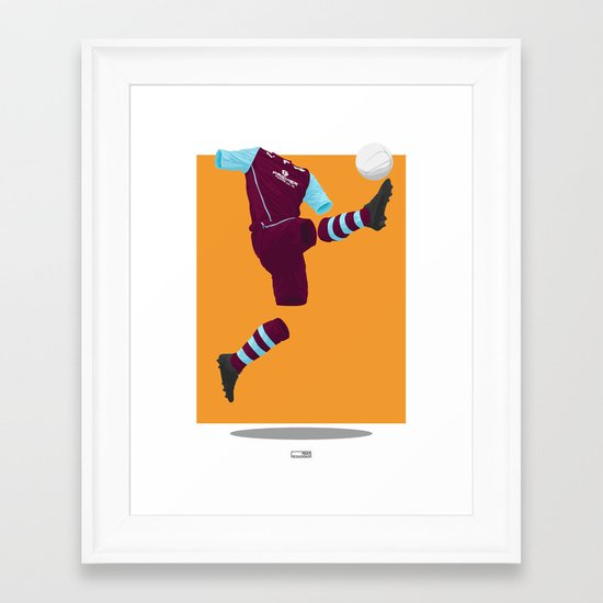 Burnley 2013/14 -  Framed Art Print