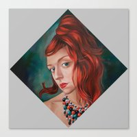 Red-Haired Canvas Print