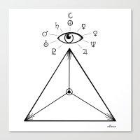 Freemasonry Canvas Print