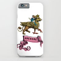 iPhone & iPod Case featuring Awesome by Smiley and the Pony