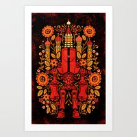 Cherno Flora Art Print