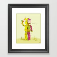 Bearbrick Framed Art Print
