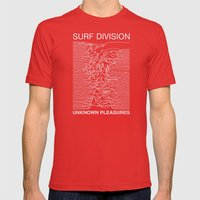 SURF DIVISION Mens Fitted Tee Red SMALL