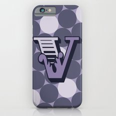 Letter V Slim Case iPhone 6s