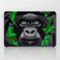 Shy Green Eyes iPad Case