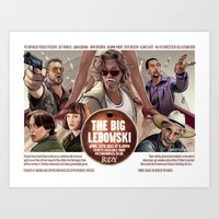 The Big Lebowski (original event poster) Art Print