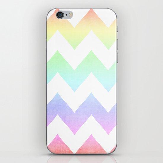 Watercolor Chevrons iPhone & iPod Skin
