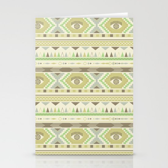 Aztec Eye Stationery Card