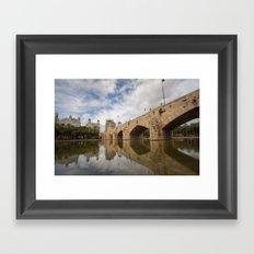 Pont del Mar Framed Art Print