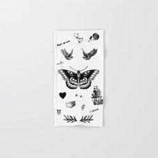Tattoo à la Harry Hand & Bath Towel