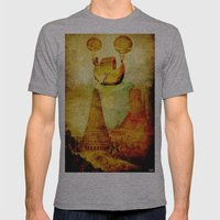 The Noah's Ark Arrives O… Mens Fitted Tee Athletic Grey SMALL