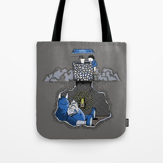 Nightlights and Oven Mitts Tote Bag
