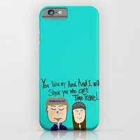 iPhone & iPod Case featuring I will show you who can't time travel by Sarcastic Savage
