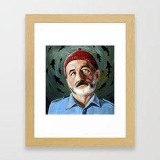 Steve Zissou - Patron Sa… Framed Art Print