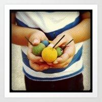 Little Hands Art Print