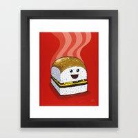 Dinner For One Framed Art Print