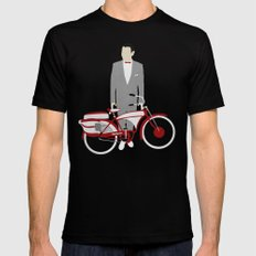 Pee Wee's Big Adventure  SMALL Black Mens Fitted Tee