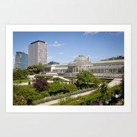 Brussels Botanical Garde… Art Print