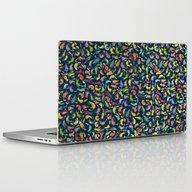 Watercolor Cats III Laptop & iPad Skin