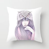 The Wisdom Throw Pillow