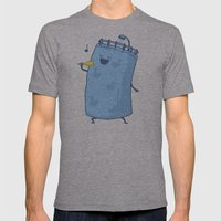 Singing In The Shower? Mens Fitted Tee Athletic Grey SMALL