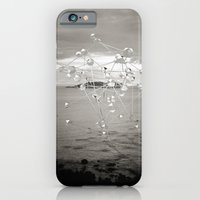 iPhone Cases featuring Intervention 05 by Viviana Gonzalez