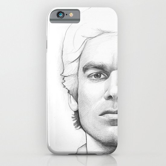 Dexter Morgan Portrait iPhone & iPod Case