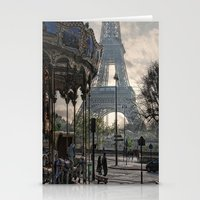Manège Parisienne Stationery Cards