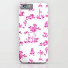 Pink Toile Unicorn iPhone 6s Slim Case