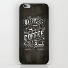 Coffee - Typography iPhone & iPod Skin