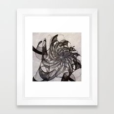 fractal design -95- Framed Art Print