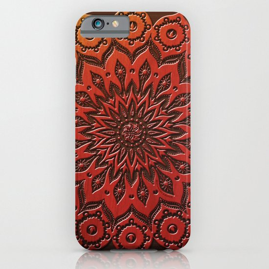 okshirahm woodcut iPhone & iPod Case