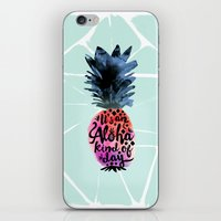 Pineapple Aloha Type iPhone & iPod Skin