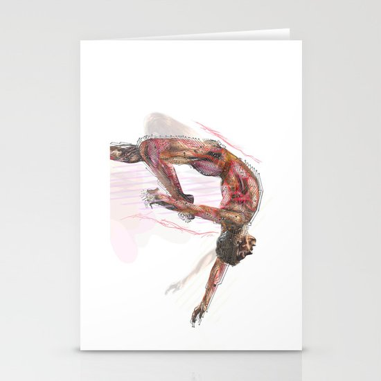The Olympic Games, London 2012 Stationery Card