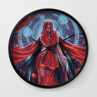 Blood witch Wall Clock