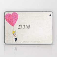 Let It Go Laptop & iPad Skin