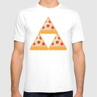 T-shirt featuring Tri-Pizza by Monstruonauta